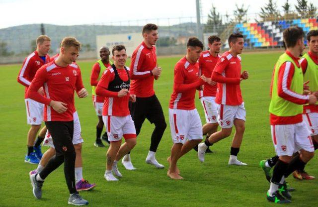 Dinamo în cantonamentul de la Limassol